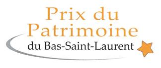 Prix du Patrimoine du Bas-Saint-Laurent