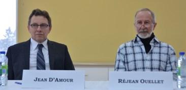 Jean D'Amour et Réjean Ouellet