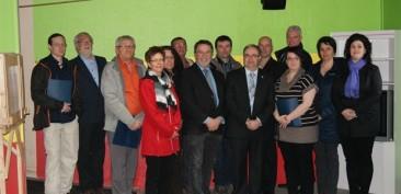 Conseil d'administration et partenaires de la MFR du KRTB
