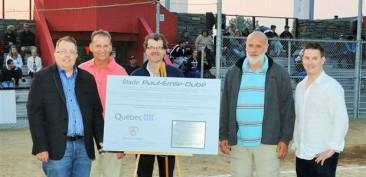 Inauguration du Stade Paul-Émile-Dubé à Trois-Pistoles