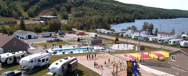 Fin de la construction au Camping KOA Bas-Saint-Laurent | Centre local de développement des Basques | Résolument partenaire
