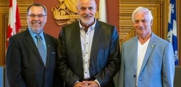 Bertin Denis, Jean-Pierre Rioux, Réjean Côté