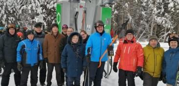 Le Parc du Mont-Saint-Mathieu inaugure sa nouvelle remontée mécanique | Centre local de développement des Basques | Résolument partenaire