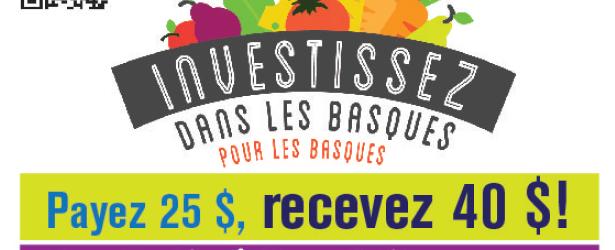 La MRC des Basques lance une campagne de financement participatif pour soutenir les acteurs agroalimentaires | Centre local de développement des Basques | Résolument partenaire